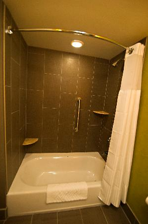 DoubleTree Suites by Hilton Huntsville-South: Nice bathroom in double suite