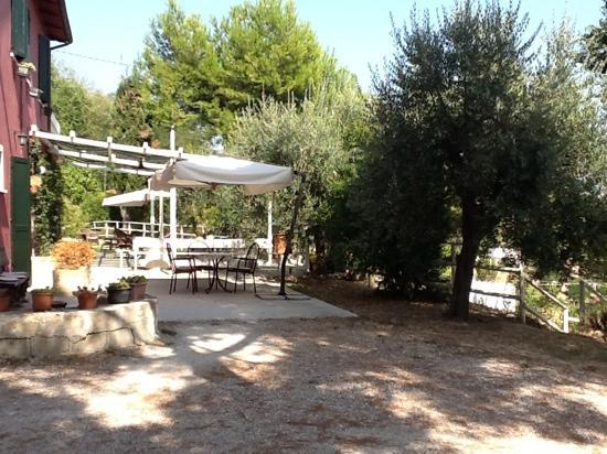 Agriturismo Ca Verde: veranda