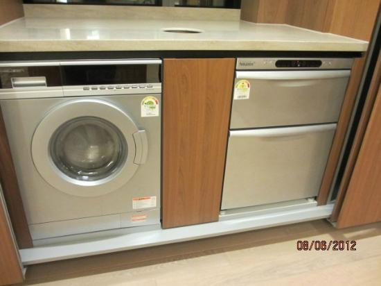 The Classic 500 Executive Residence Pentaz: washer/dryer