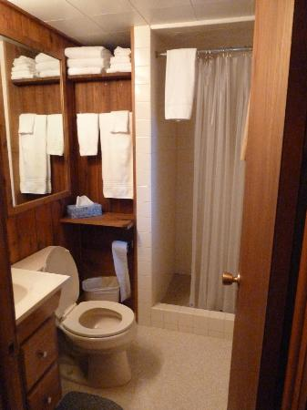 Wagon Wheel RV Campground and Cabins: Bathroom - cabin 6