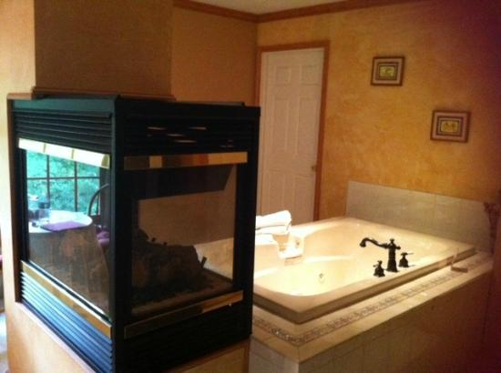 Highland Manor Bed and Breakfast: Tuscany Room jacuzzi room