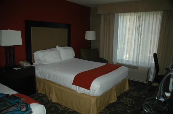 Holiday Inn Express Hotel & Suites Idaho Falls: Bed