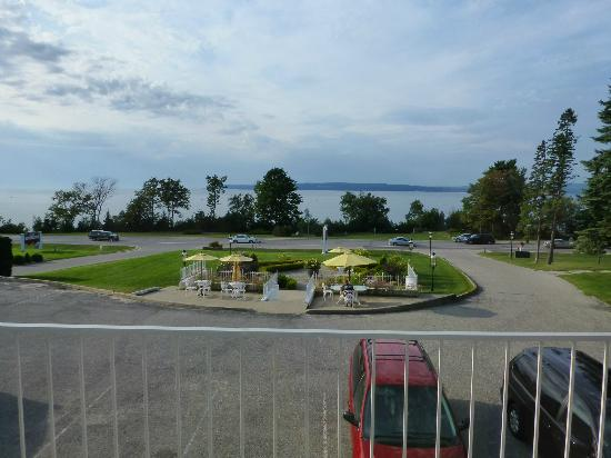 Bay Inn Petoskey: View from room 201