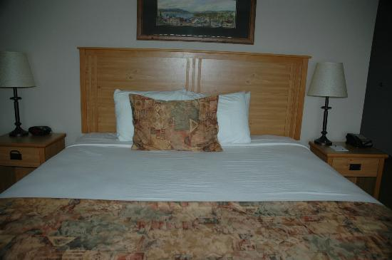 BEST WESTERN PLUS McCall Lodge & Suites: Bed