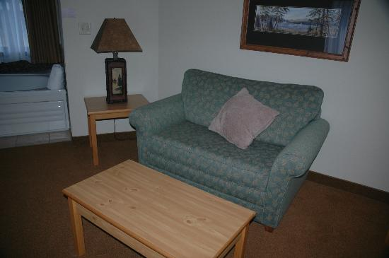BEST WESTERN PLUS McCall Lodge & Suites: Sitting area