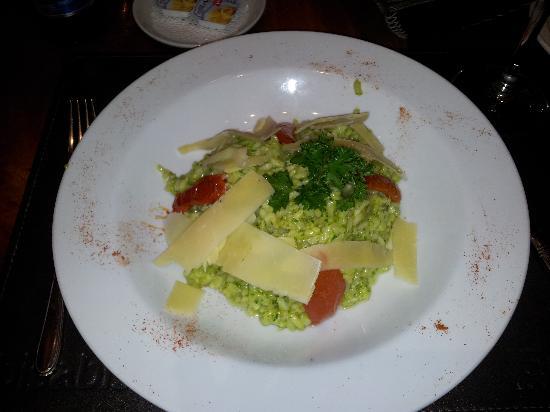 Hotel Bel Air: Risoto no restaurante do Hotel, uma delícia