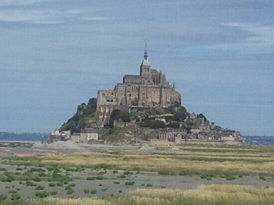 the view from the distance picture of mont michel manche tripadvisor