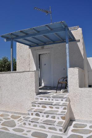 Malamas Apartments: ingresso