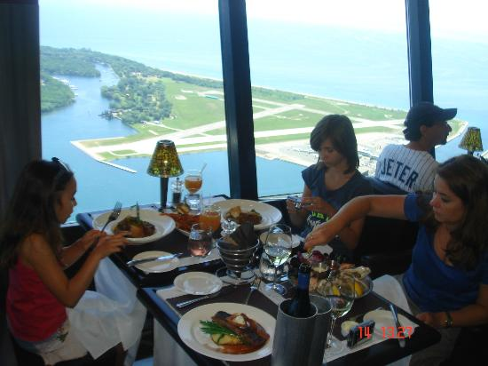 Great Time Picture Of 360 The Restaurant At The Cn Tower Toronto Tripadvisor
