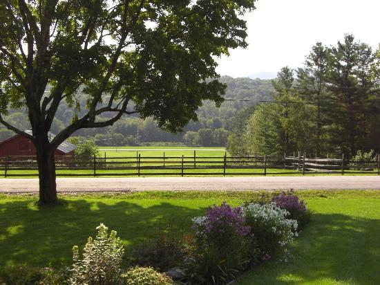 Yellow Farmhouse Inn: Valley view from the front porch