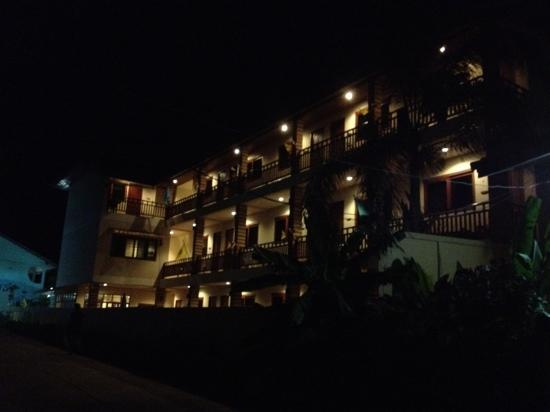 Hathai House at night