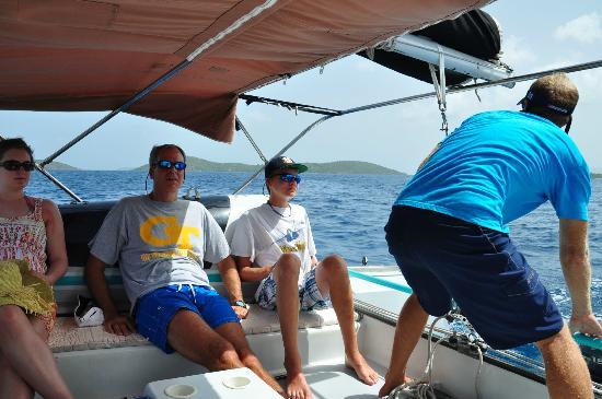 Fly Girl: Flygirl snorkel trip St Johns