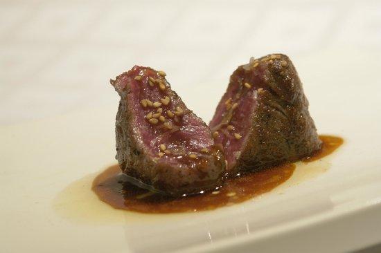 Restaurante Argentino Dos Terres-Angus Beef en Tataki