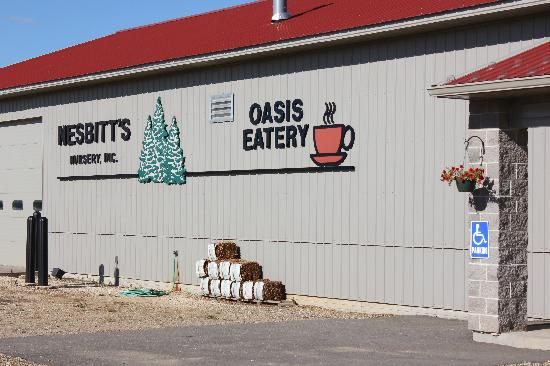 Oasis Eatery: Front of the nursery