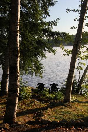 Wilson Lake Inn: Lake