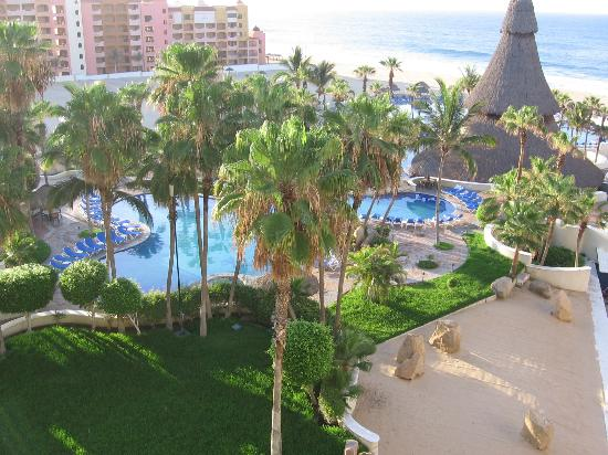 Sandos Finisterra Los Cabos: View from our room on 5th floor