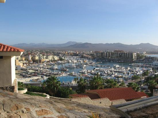 Sandos Finisterra Los Cabos: View of marina from restaurant