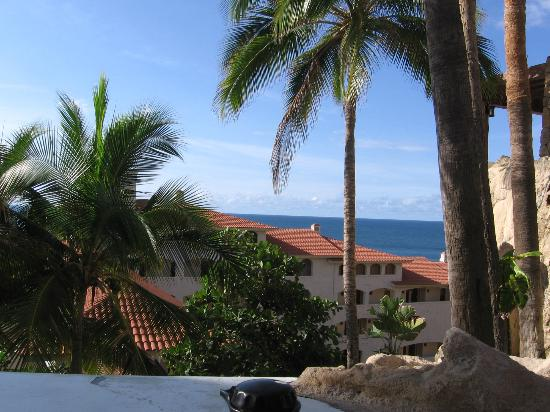 Sandos Finisterra Los Cabos: View of ocean from breakfast area