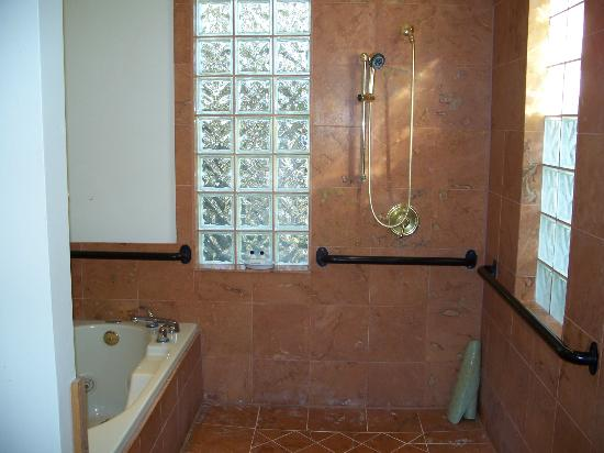 Blue Lake Ranch: Whirlpool and separate shower