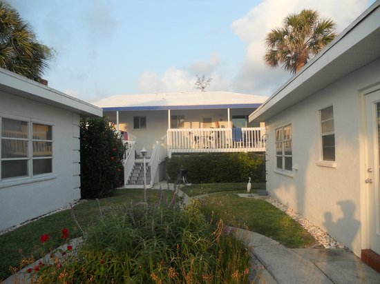 Gulfside Beach Club: view of unit #9, which has a great deck