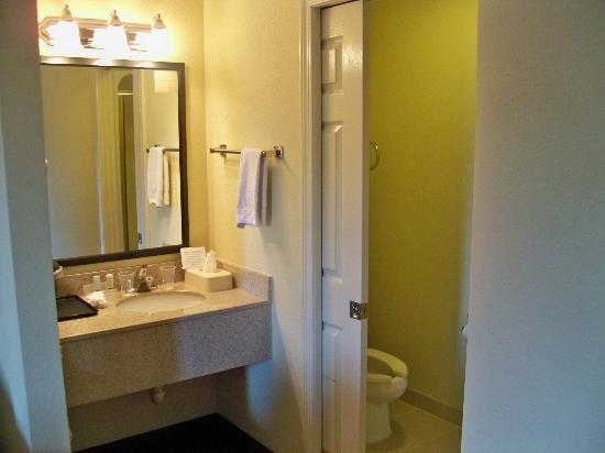 Sleep Inn East Louisville: Vanity area.
