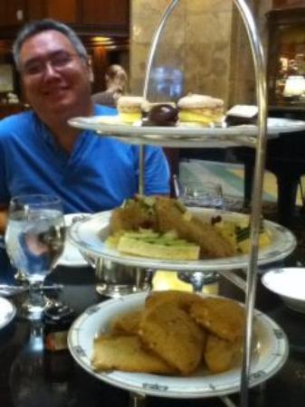 Afternoon Tea at The Brown Palace Hotel: 3 tiers of yumminess!