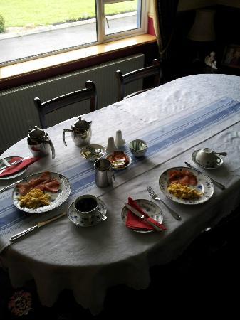 Lock View House B&B : Amazing Breakfast