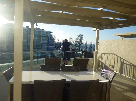 Sandcastles Mooloolaba : View from our rooftop