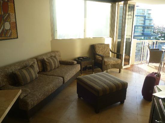 Sandcastles Mooloolaba : Living area