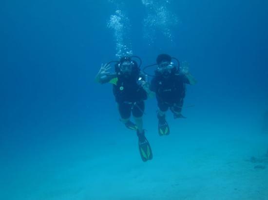 Bananarama Beach and Dive Resort: Michelle and Keith