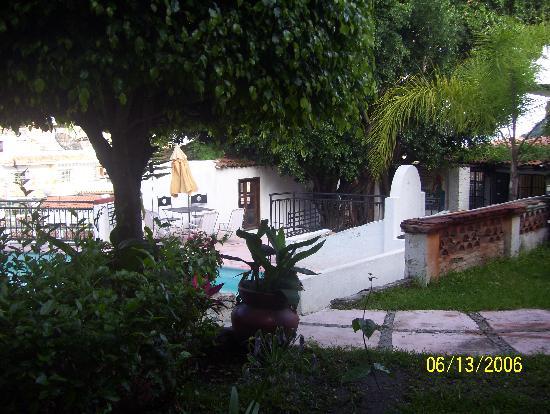 Hotel Real de San Diego: jardin
