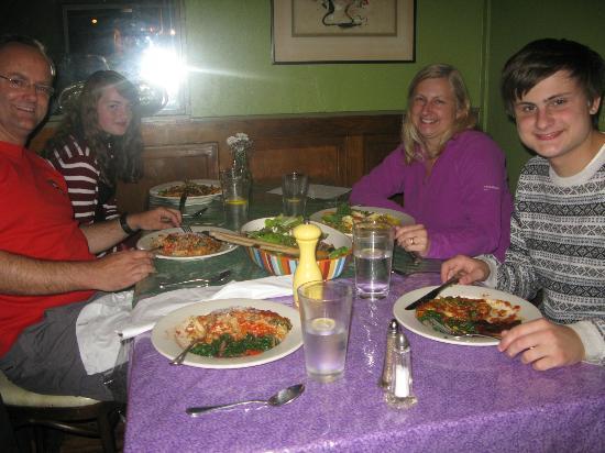 Julia's: A selection of meals enjoyed at Julias