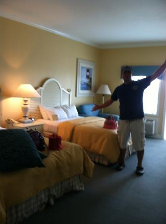 Boardwalk Inn: our room