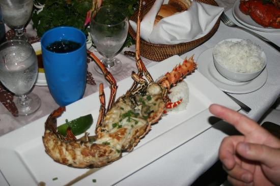 Castaway Island Fiji: dinner