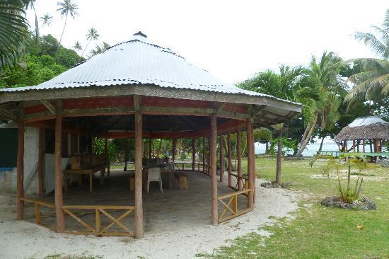 Namua Island Resort: Dining fale