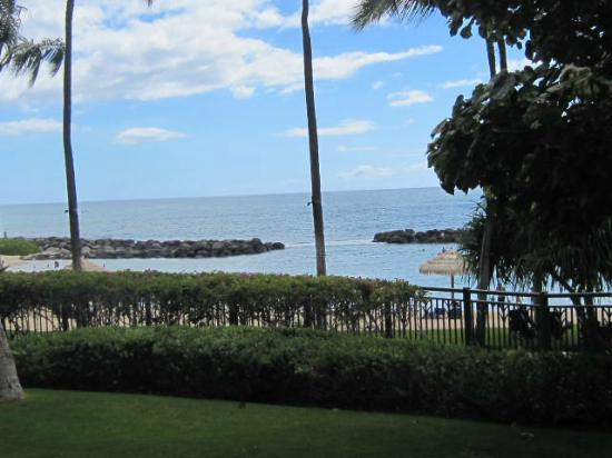 Beach Villas at Ko Olina: View from our patio
