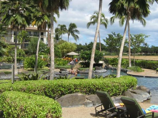 Beach Villas at Ko Olina: Pool view