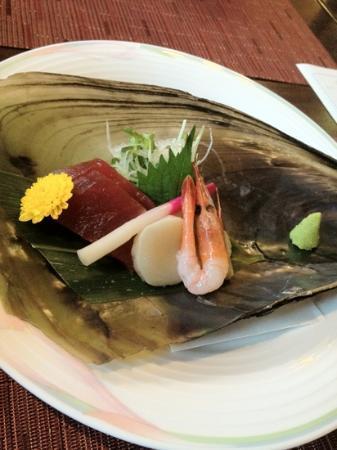 Utayu no Yado Hakone : sashimi