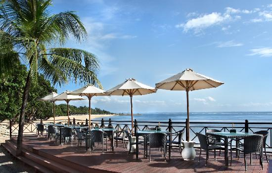 Melia Bali Indonesia: New Sateria Restaurant - Deck