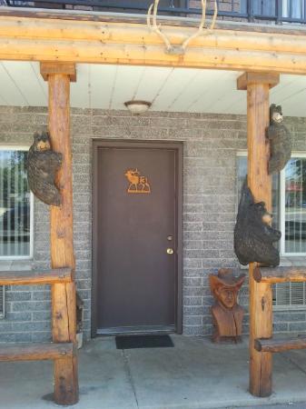 Elk Antler Inn : Room Door