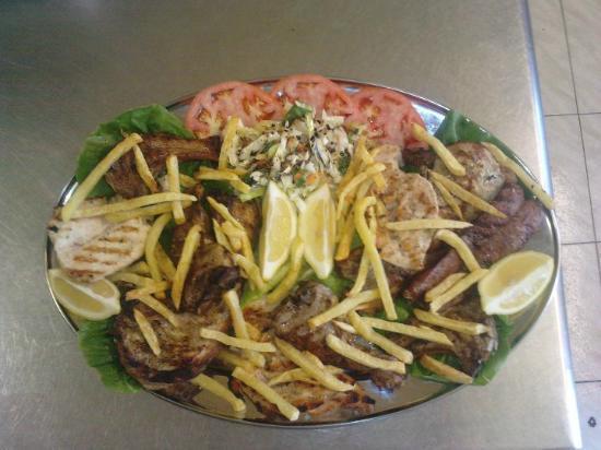 Aegean Shore: mixed grill