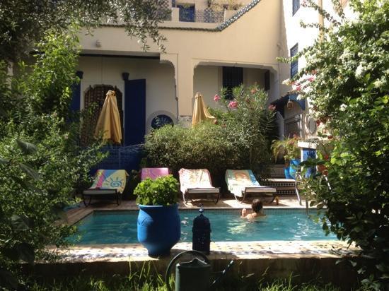 Riad Jean Claude: piscine