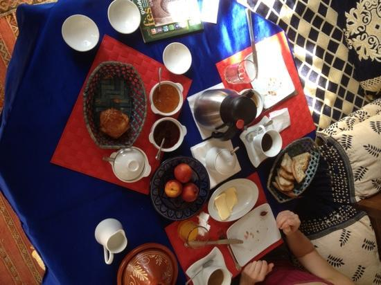 Riad Jean Claude: petit déjeuner