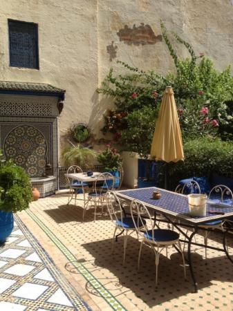Riad Jean Claude: terrasse