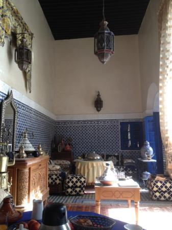 Riad Jean Claude: salon