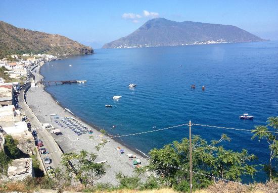 Hotel Cutimare: Spiaggia di Acquacalda