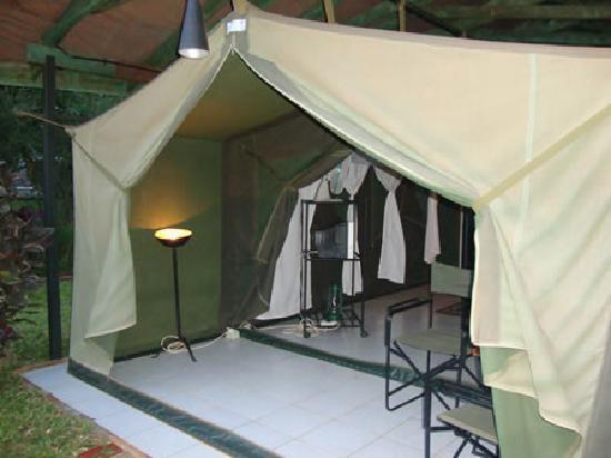 Impala Safari Lodge: Tent - Front View