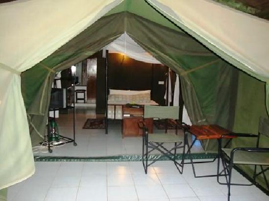 Impala Safari Lodge: Tent - External Lounge