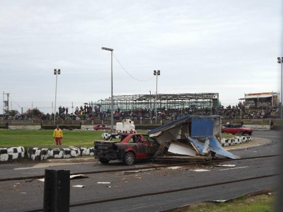 Skegness, UK : Ouch!!!