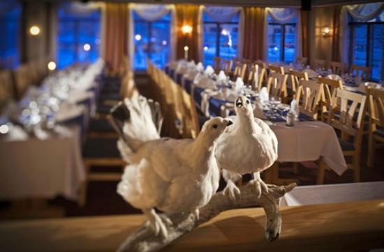 Lapland Hotel Riekonlinna: Restaurant Linansali